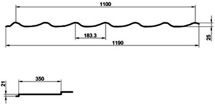 Металлочепепица супермонтеррей мп размеры