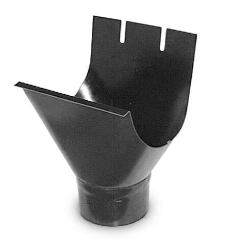 Соединитель желоб-труба 150на100