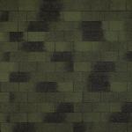 Гибкая(битумная) черепица Винтаж линейки Tegola Top Shingle зеленый