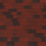 Гибкая(битумная) черепица Винтаж линейки Tegola Top Shingle красный