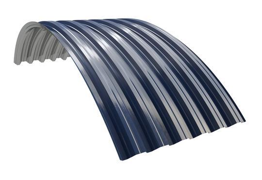 несуший арочный профлист ruukki T45-30L-905