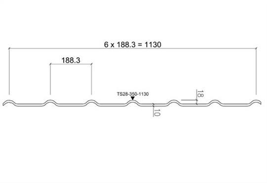 Металлочерепица Ruukki Decorrey характеристики и размеры