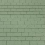 Фотокаталитическая гибкая черепица Acti roof (Актируф) зеленый