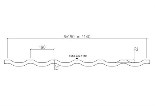 Металлочерепица РУУККИ финнера размеры