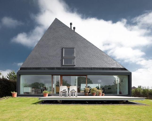 шатровая крыша сланца