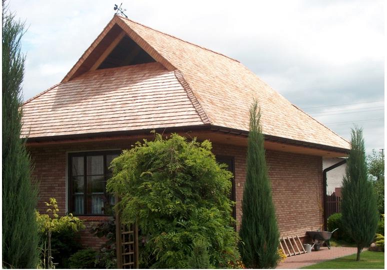 датская деревянная крыша