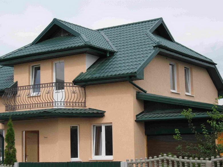 датская крыша из металлочерепицы