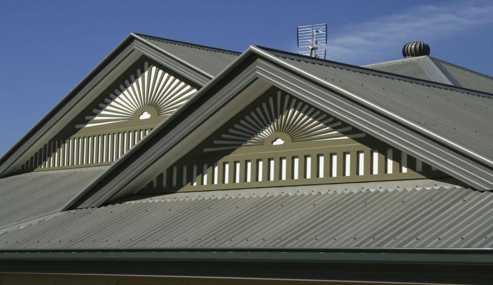 датская крыша из профлиста