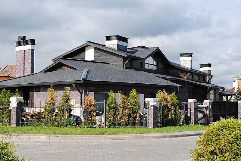 датская крыша из сланца