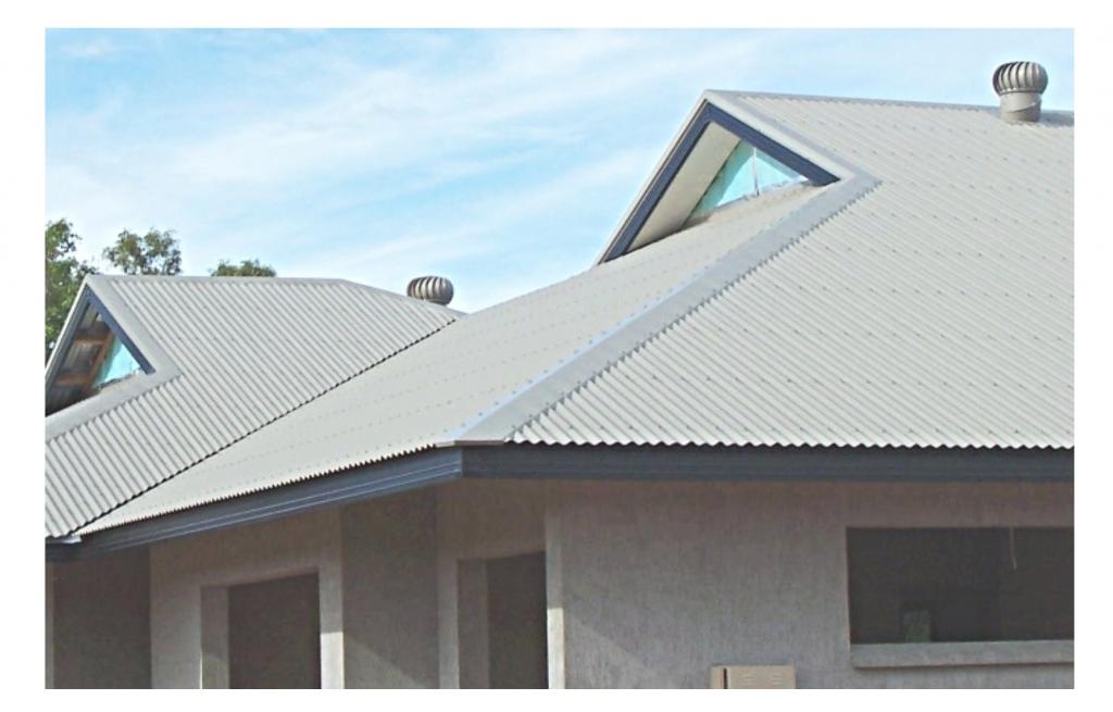 датская крыша из шифера