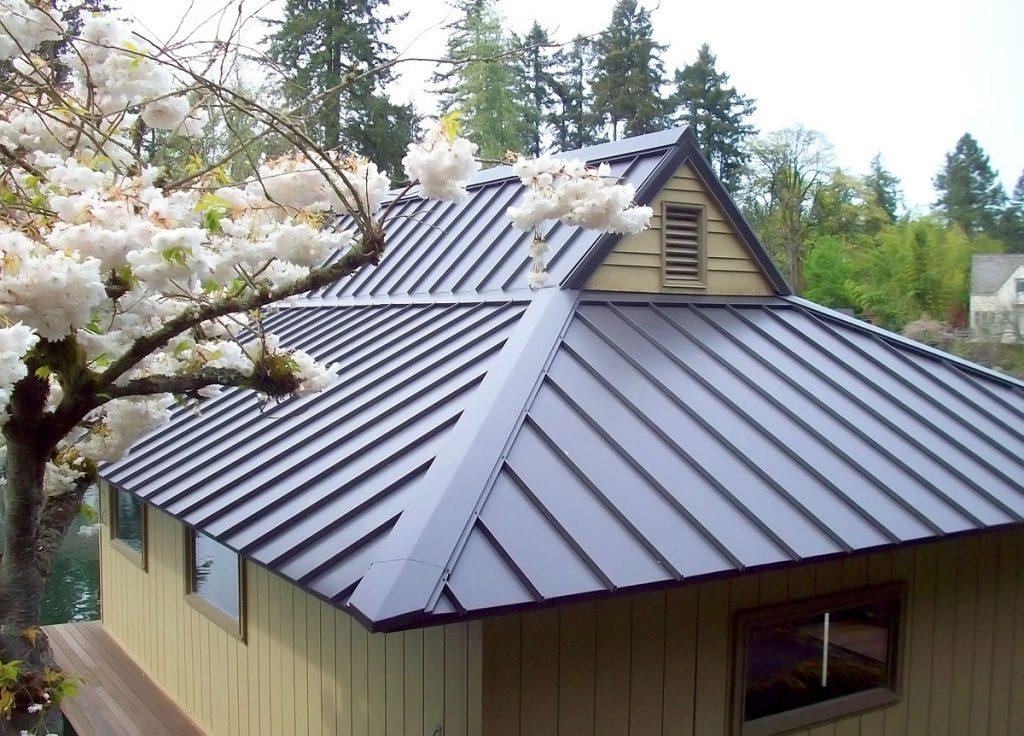 датская фальцевая крыша