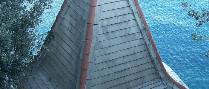 деревянная пирамидальная крыша шпиц