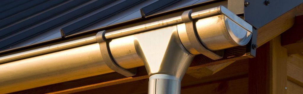 Алюминиевые водосточные системы фото