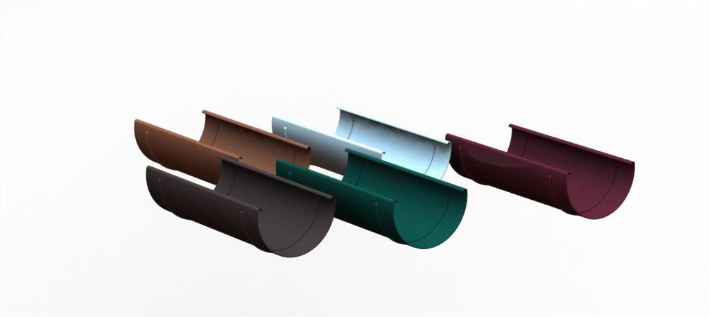 Соединитель желоба Линкор, d=120 мм