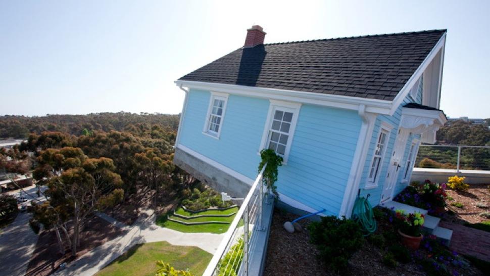 дом на плоской крыше