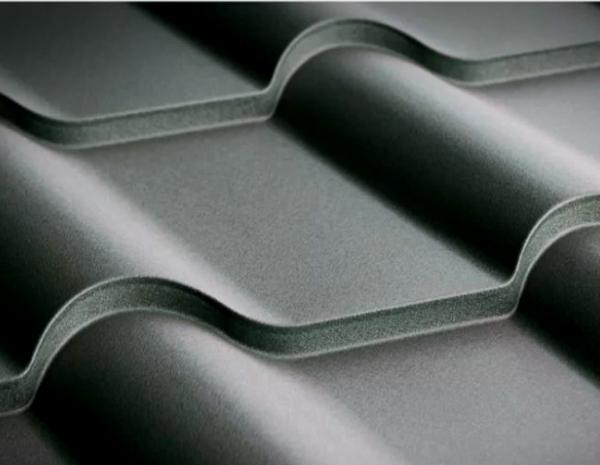 Металлочерепица Grand Line Kamea стальной бархат