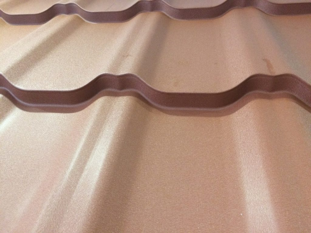 Металлочерепица Grand Line Kvinta Plus стальной бархат